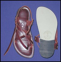 Ladies Cordovan Sandals - Handmade leather - Womens handmade leather sandals - all sandals at islandsandals.com are handmade with quality leather