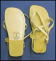 Natural Light - Men and Womens handmade leather sandals - all sandals at islandsandals.com are handmade with quality leather
